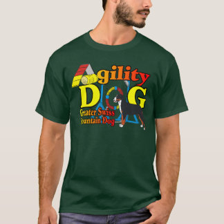 Greater Swiss Mountain Dog Agility T-Shirt