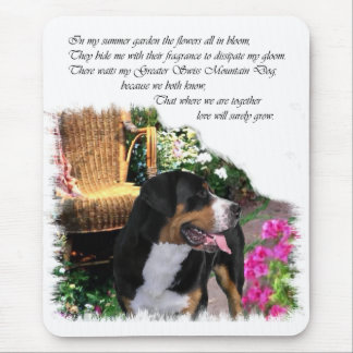 Greater Swiss Mountain Dog Art Gifts Mouse Pad