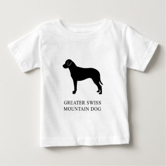 Greater Swiss Mountain Dog Baby T-Shirt