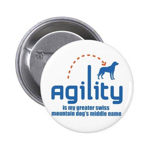Greater Swiss Mountain Dog Pinback Button