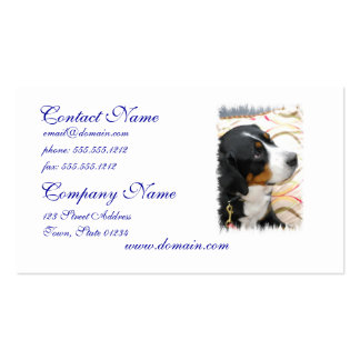 Greater Swiss Mountain Dog Business Cards