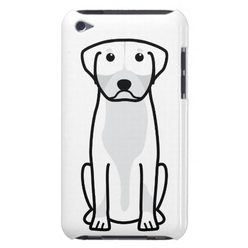 Greater Swiss Mountain Dog Cartoon Barely There iPod Cover