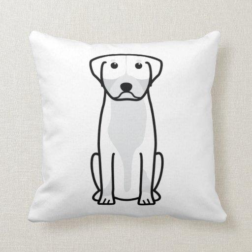 Greater Swiss Mountain Dog Cartoon Pillow