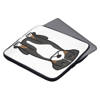 Greater Swiss Mountain Dog Cartoon Laptop Sleeves