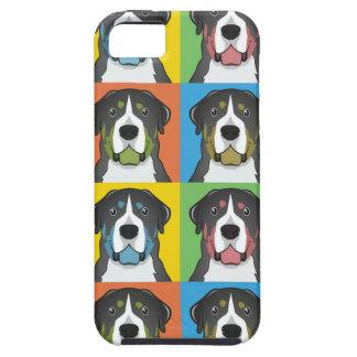 Greater Swiss Mountain Dog Cartoon Pop-Art iPhone 5 Cover