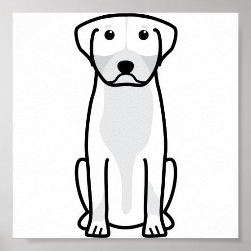 Greater Swiss Mountain Dog Cartoon Poster