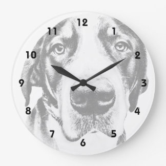 Greater Swiss Mountain Dog Round Wall Clock