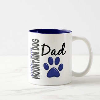 Greater Swiss Mountain Dog Dad 2 Two-Tone Coffee Mug