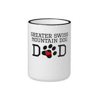 Greater Swiss Mountain Dog Dad Mugs