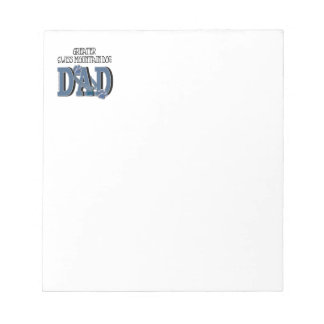 Greater Swiss Mountain Dog DAD Notepads