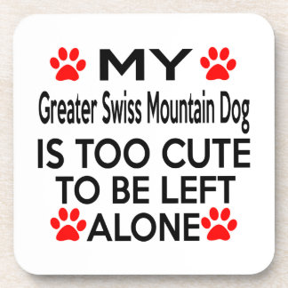 Greater Swiss Mountain Dog Designs Coasters