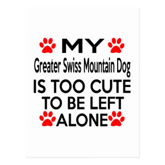 Greater Swiss Mountain Dog Designs Postcard