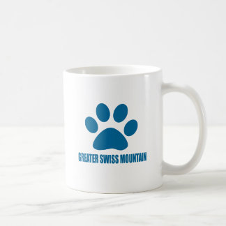 GREATER SWISS MOUNTAIN DOG DOG DESIGNS COFFEE MUG