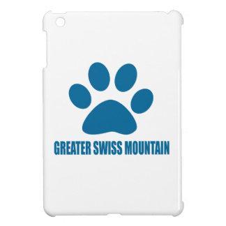 GREATER SWISS MOUNTAIN DOG DOG DESIGNS iPad MINI CASES