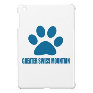 GREATER SWISS MOUNTAIN DOG DOG DESIGNS iPad MINI COVER