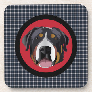 GREATER SWISS MOUNTAIN DOG DRINK COASTERS