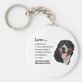 Greater Swiss Mountain Dog Gifts Key Ring