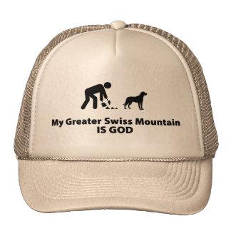 Greater Swiss Mountain Dog Trucker Hats