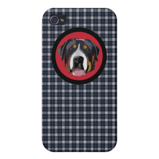 GREATER SWISS MOUNTAIN DOG iPhone 4/4S COVER