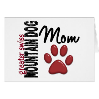 Greater Swiss Mountain Dog Mom 2 Cards