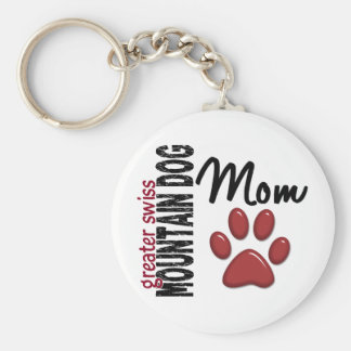 Greater Swiss Mountain Dog Mom 2 Keychain
