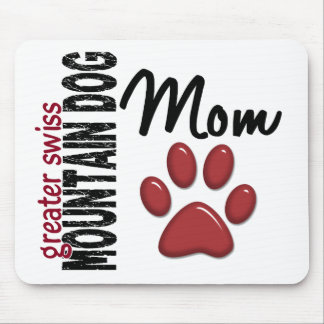 Greater Swiss Mountain Dog Mom 2 Mouse Pad