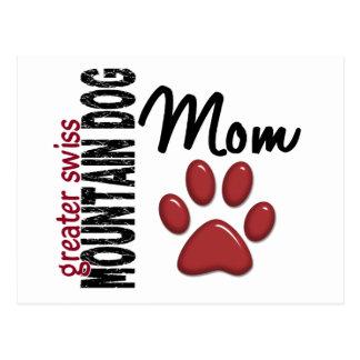 Greater Swiss Mountain Dog Mom 2 Postcard