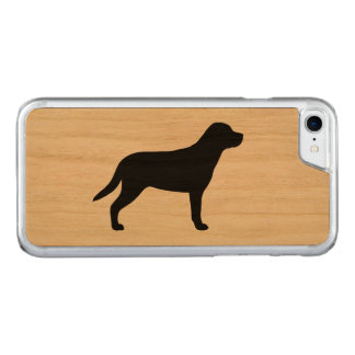 Greater Swiss Mountain Dog Silhouette Carved iPhone 7 Case