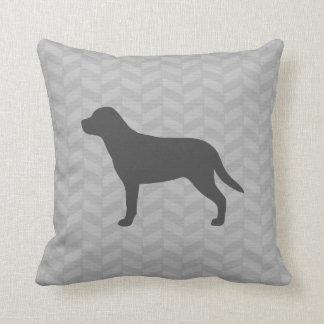 Greater Swiss Mountain Dog Silhouette Cushion