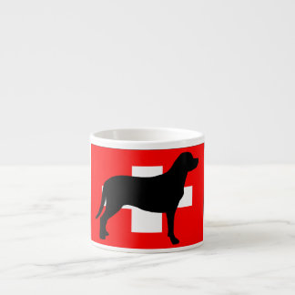 greater swiss mountain dog silo flag switzerland f espresso cup