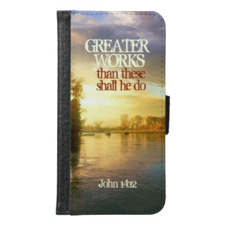 Greater Works Shall He Do, John 14:12 Bible Verse