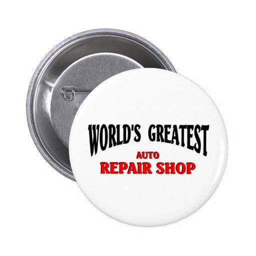 Greatest Auto Repair Shop Pin