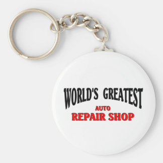 Greatest Auto Repair Shop Keychain