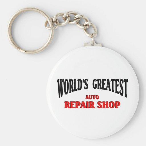 Greatest Auto Repair Shop Keychain