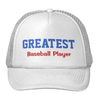 Greatest Baseball Player Cap