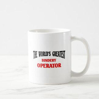 Greatest Bindery Operator Coffee Mug