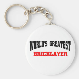 Greatest Bricklayer Key Ring