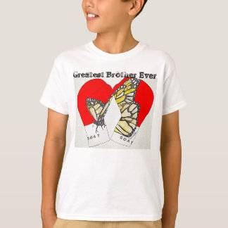 Greatest Brother Ever with Monarch Boxing Gloves T-Shirt