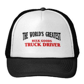 Greatest Bulk Goods Truck Driver Cap
