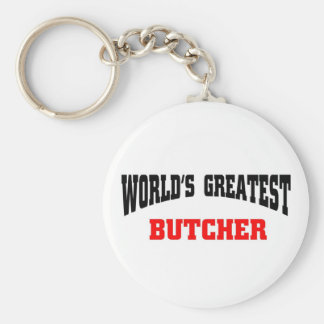 Greatest Butcher Key Ring