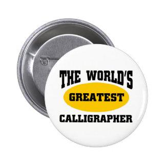 Greatest calligrapher pins
