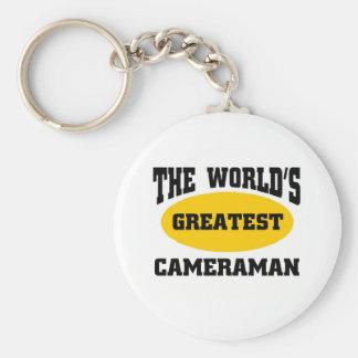 Greatest cameraman key ring