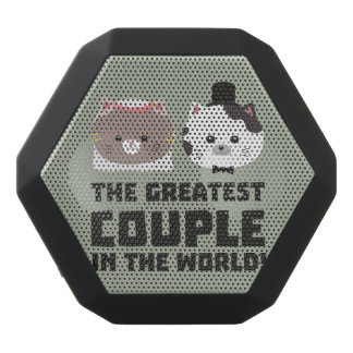 Greatest Cat Couple in the world Zd2n1 Black Bluetooth Speaker