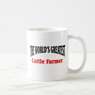 Greatest cattle farmer coffee mug