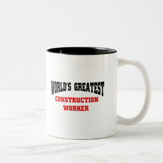 Greatest Construction Worker Mugs
