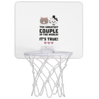 Greatest Couple in the World Its true Z3j3h Mini Basketball Hoop