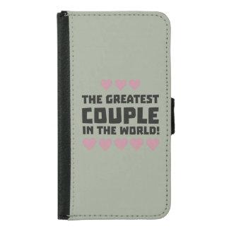 Greatest Couple Love Zg5qi Samsung Galaxy S5 Wallet Case