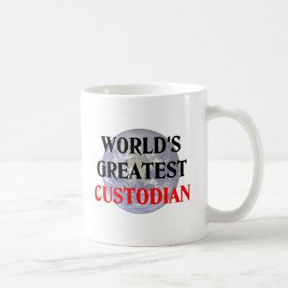 Greatest Custodian Coffee Mug