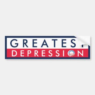 Greatest Depression Bumper Stickers