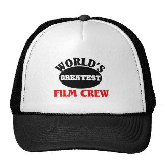 Greatest Film Crew Trucker Hats